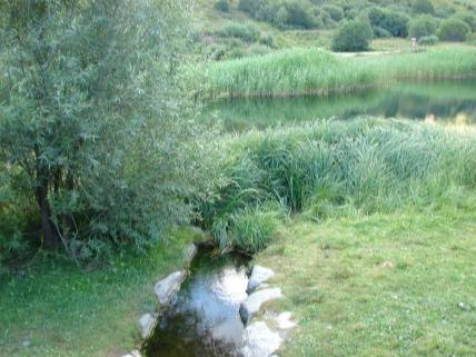 Le plan de l'eau des bruyères - Les Menuires